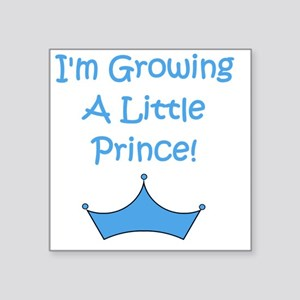 "imgrowingalittleprince_crow Square Sticker 3"" x 3"""