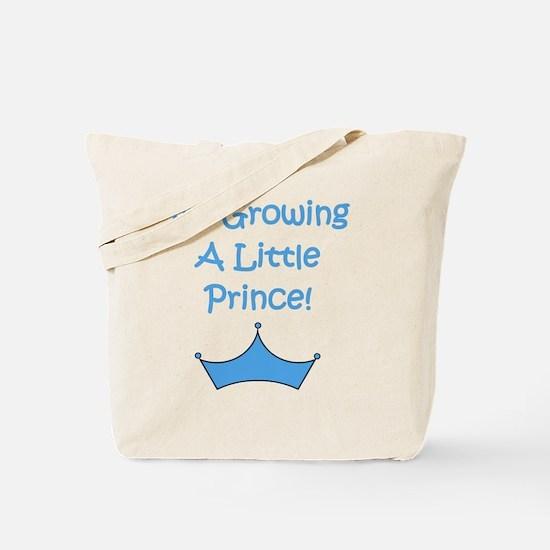 imgrowingalittleprince_crown2 Tote Bag