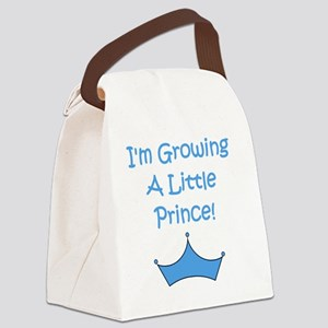 imgrowingalittleprince_crown2 Canvas Lunch Bag
