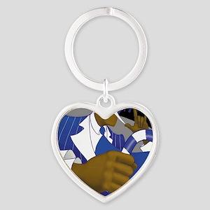 sigmapad Heart Keychain
