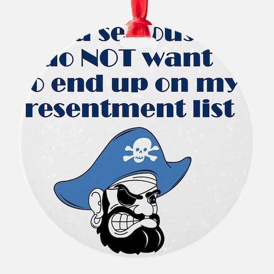 resentment-pirate Ornament