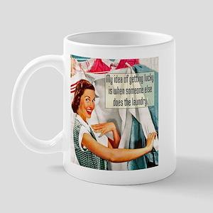 Lucky Laundry Mug