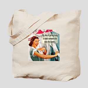 Lucky Laundry Tote Bag