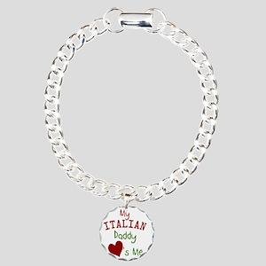 my-italian-daddy-loves-m Charm Bracelet, One Charm