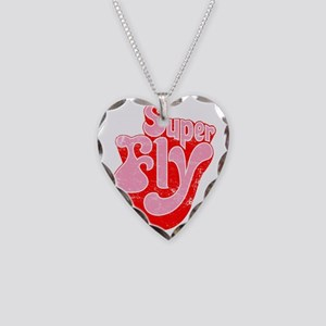 Superfly Necklace Heart Charm