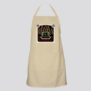 Antique Radio Face BBQ Apron