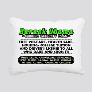 OBSECURITY Rectangular Canvas Pillow