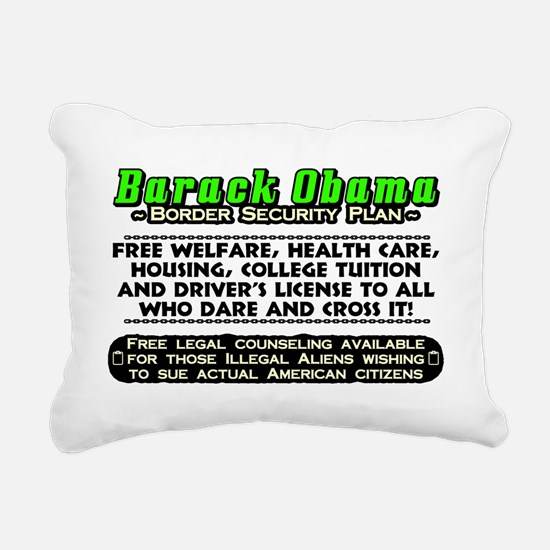 OBSECURITY Rectangular Canvas Pillow