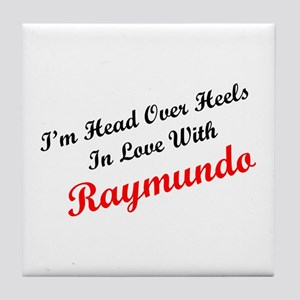 In Love with Raymundo Tile Coaster