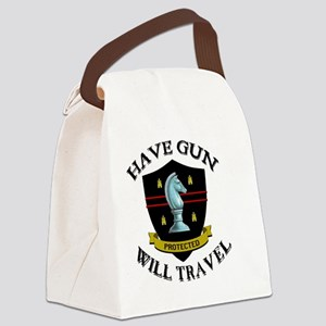 paladin Canvas Lunch Bag