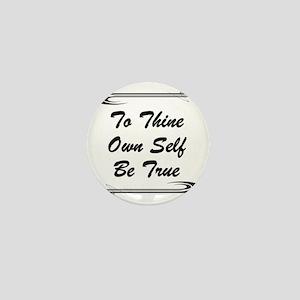 thine-own-self Mini Button