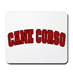Cane Corso Red Mousepad