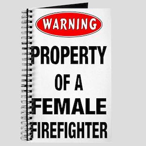 Female Firefighter Property Journal