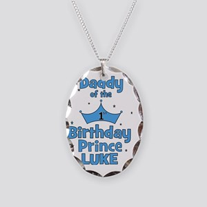 ofthebirthdayprince_daddy_LUKE Necklace Oval Charm