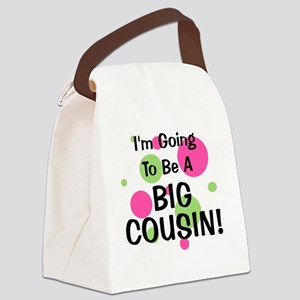 circles_goingtobeaBIGCOUSIN_girl Canvas Lunch Bag