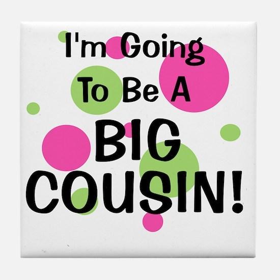 circles_goingtobeaBIGCOUSIN_girl Tile Coaster
