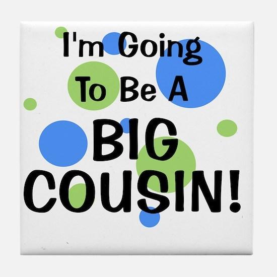 circles_goingtobeaBIGCOUSIN_boy Tile Coaster