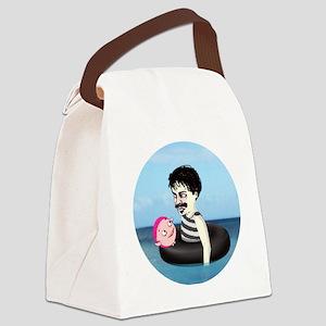 Strindberg and helium innertube Canvas Lunch Bag