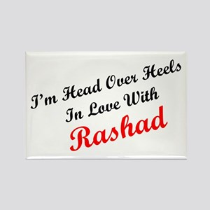 In Love with Rashad Rectangle Magnet