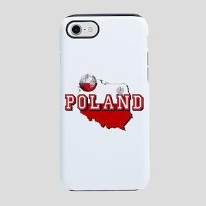 Polish Flag Map iPhone 8/7 Tough Case