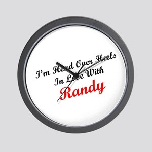 In Love with Randy Wall Clock