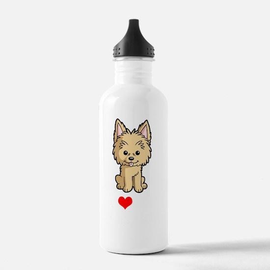 I-Love-My-Chorkie-Cart Water Bottle