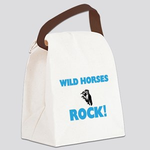 Wild Horses rock! Canvas Lunch Bag