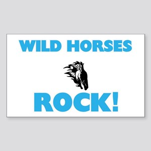 Wild Horses rock! Sticker