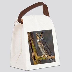 Hoot OWL Canvas Lunch Bag