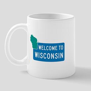 Welcome to Wisconsin - USA Mug