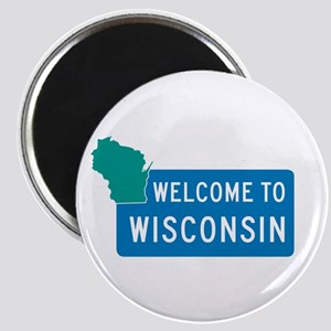 Welcome to Wisconsin - USA Magnet