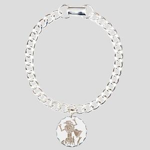2-robotV2 Charm Bracelet, One Charm