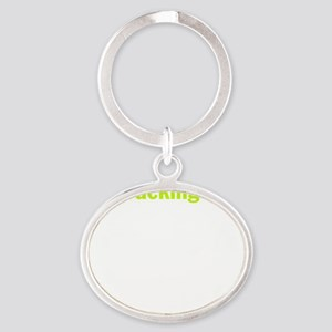 natural-gas Oval Keychain