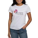 3-CBflower tee T-Shirt