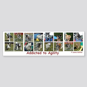 Addicted to Agility Bumper Sticker