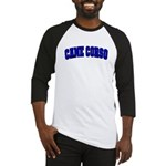 Cane Corso Blue Baseball Jersey