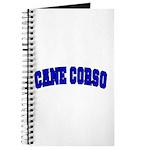 Cane Corso Blue Journal