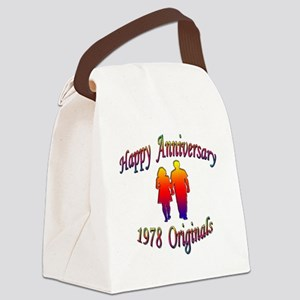 ann 1978 Canvas Lunch Bag
