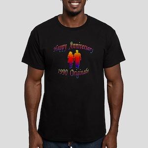 ann 1990 Men's Fitted T-Shirt (dark)