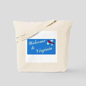Welcome to Virginia - USA Tote Bag