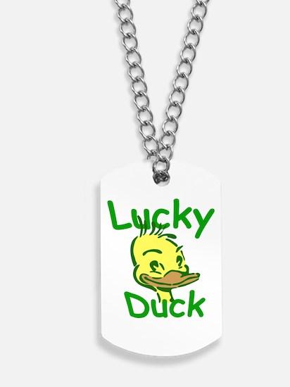 Lucky Duck Dog Tags