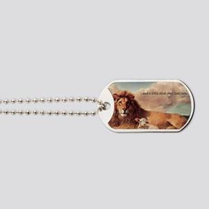 greeting card and little child Dog Tags
