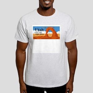 Welcome to Utah - USA Ash Grey T-Shirt