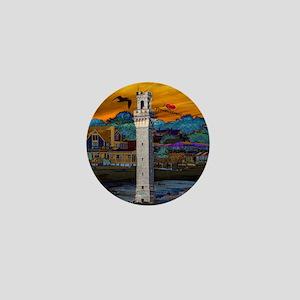 I Love Provincetown Mini Button