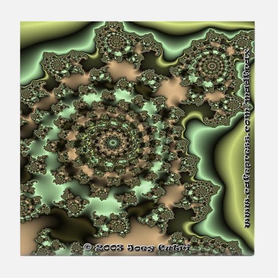 Fractal S~05 Tile Coaster