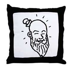 lucky guy Throw Pillow
