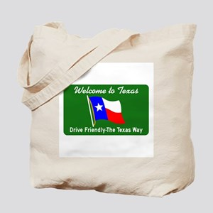 Welcome to Texas - USA Tote Bag
