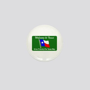 Welcome to Texas - USA Mini Button