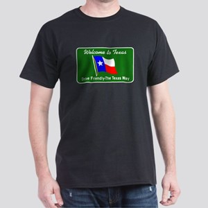 Welcome to Texas - USA Dark T-Shirt