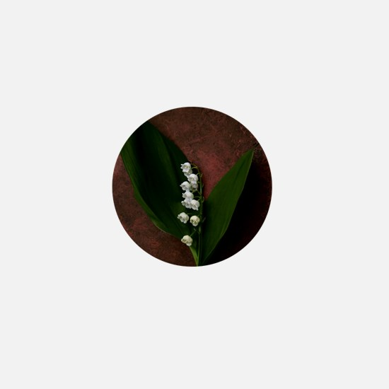 Lily of the Valley Keepsake Mini Button